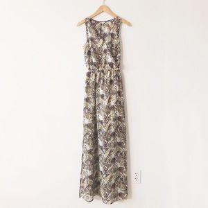 HostPick Dynamite Green Sleeveless Maxi Dress XS